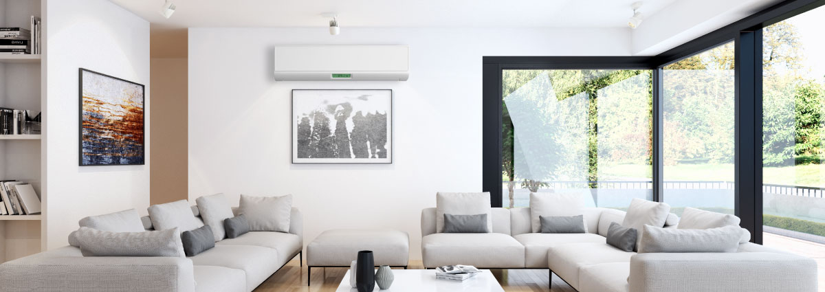 Mitsubishi mini splits are incredibly efficient heating systems! Get yours installed today!
